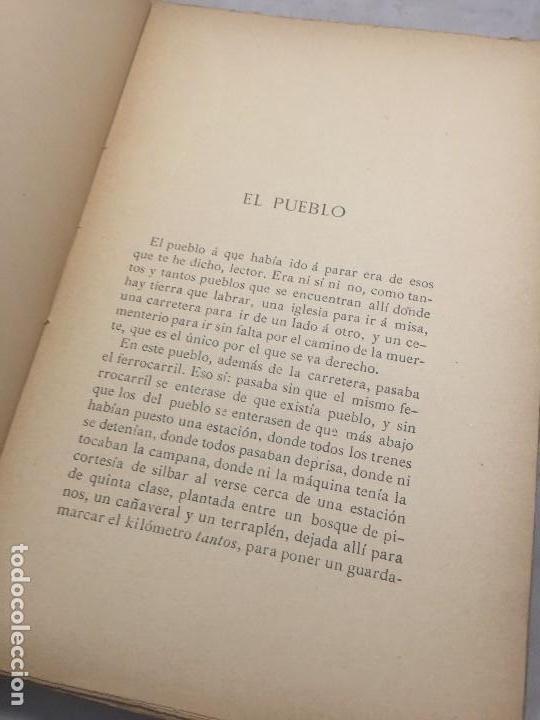 Libros antiguos: El Pueblo Gris Santiago Rusiñol español 1904 primera edición Madrid rústica - Foto 7 - 109763615