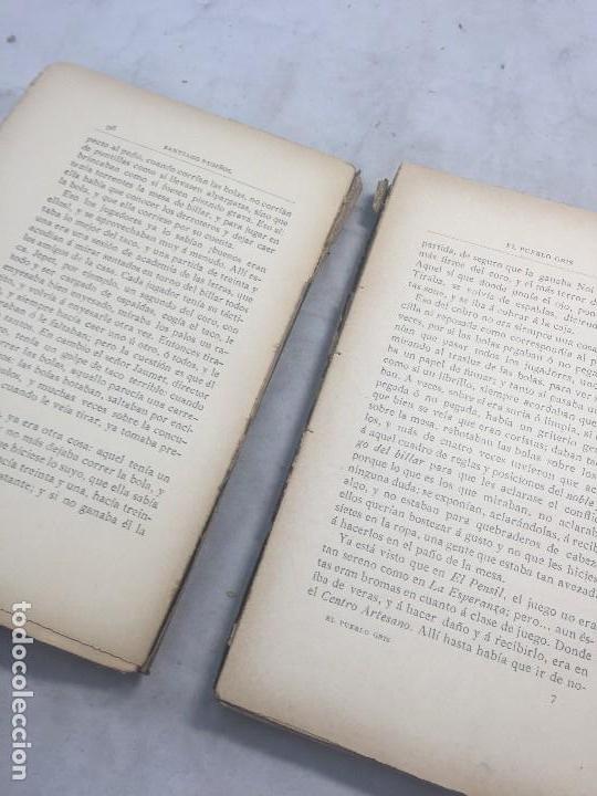 Libros antiguos: El Pueblo Gris Santiago Rusiñol español 1904 primera edición Madrid rústica - Foto 8 - 109763615