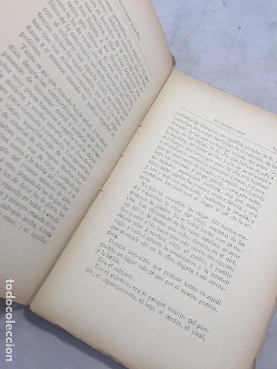 Libros antiguos: El Pueblo Gris Santiago Rusiñol español 1904 primera edición Madrid rústica - Foto 11 - 109763615