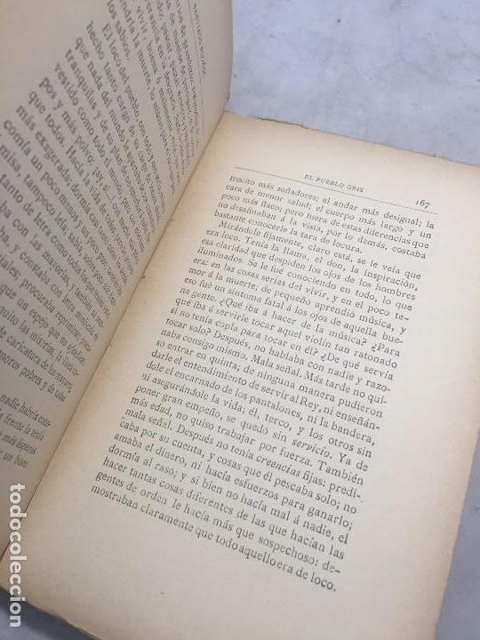 Libros antiguos: El Pueblo Gris Santiago Rusiñol español 1904 primera edición Madrid rústica - Foto 12 - 109763615