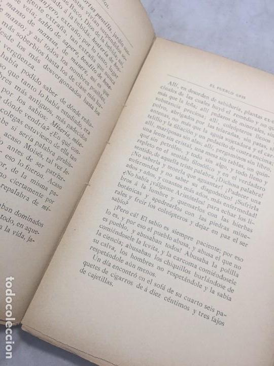 Libros antiguos: El Pueblo Gris Santiago Rusiñol español 1904 primera edición Madrid rústica - Foto 13 - 109763615