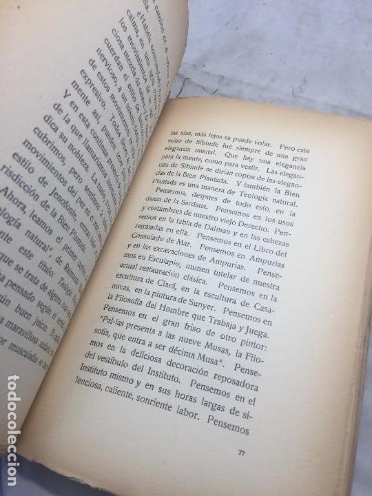 Libros antiguos: La Bien Plantada Xenivs Eugenio DOrs biblioteca excelsior Traducción Rafael Marquina rústica - Foto 9 - 109801787