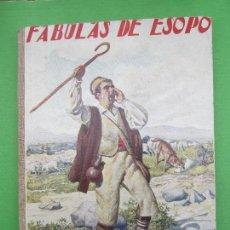 Libros antiguos: BIBLIOTECA PARA NIÑOS , RAMON SOPENA 1925 , FABULAS DE ESOPO ,. Lote 110752879