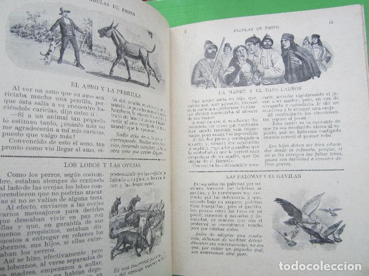 Libros antiguos: biblioteca para niños , ramon sopena 1925 , fabulas de esopo , - Foto 3 - 110752879