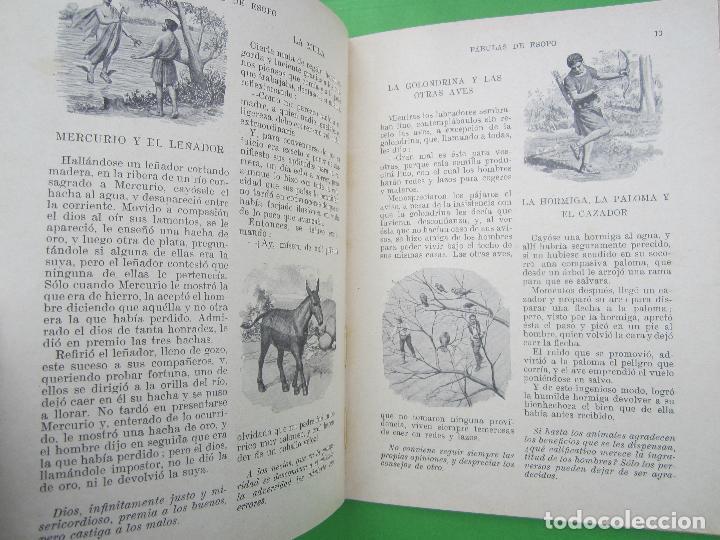 Libros antiguos: biblioteca para niños , ramon sopena 1925 , fabulas de esopo , - Foto 4 - 110752879