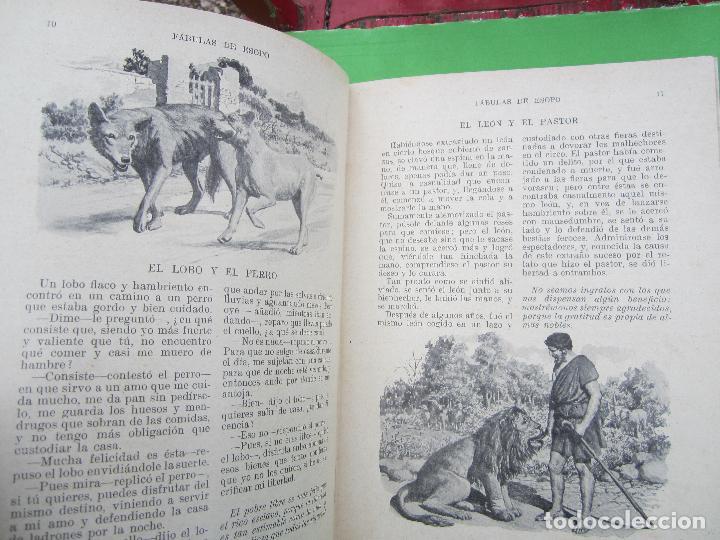 Libros antiguos: biblioteca para niños , ramon sopena 1925 , fabulas de esopo , - Foto 5 - 110752879