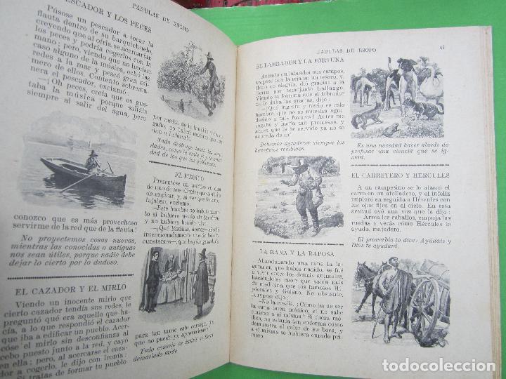 Libros antiguos: biblioteca para niños , ramon sopena 1925 , fabulas de esopo , - Foto 6 - 110752879