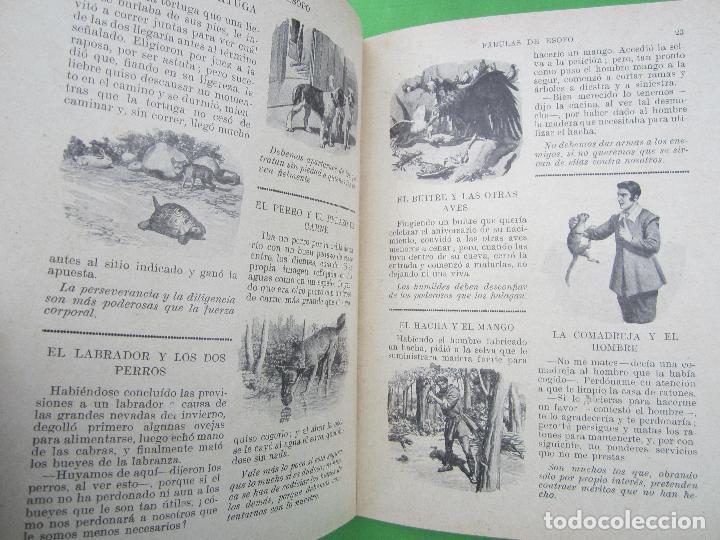 Libros antiguos: biblioteca para niños , ramon sopena 1925 , fabulas de esopo , - Foto 8 - 110752879