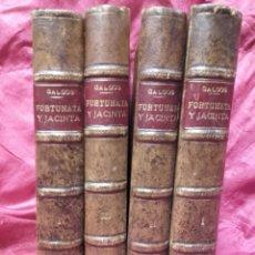 Libros antiguos: BENITO PÉREZ GALDÓS, FORTUNATA Y JACINTA, 5 TOMOS, MADRID 1915, SUCESORES DE HERNANDO. Lote 110916816