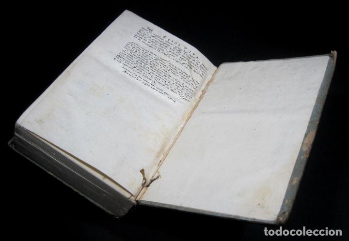 Libros antiguos: Año 1731 Cicerón Cartas a Ático Cartas a su hermano Venecia Frontispicio grabado Antigua Roma - Foto 17 - 111535731