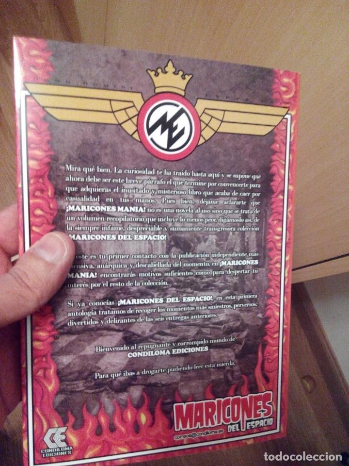 Libros antiguos: MARICONES MANIA - Foto 2 - 111709459