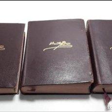 Libros antiguos: OBRAS COMPLETAS DE VICENTE BLASCO IBAÑEZ (3 TOMOS), EDITORIAL AGUILAR, 1961. Lote 111809111