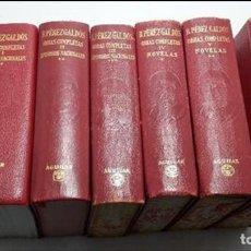 Libros antiguos: BENITO PÉREZ GALDÓS - OBRAS COMPLETAS. 6 VOLÚMENES VARIAS EDICIONES.. Lote 111811651