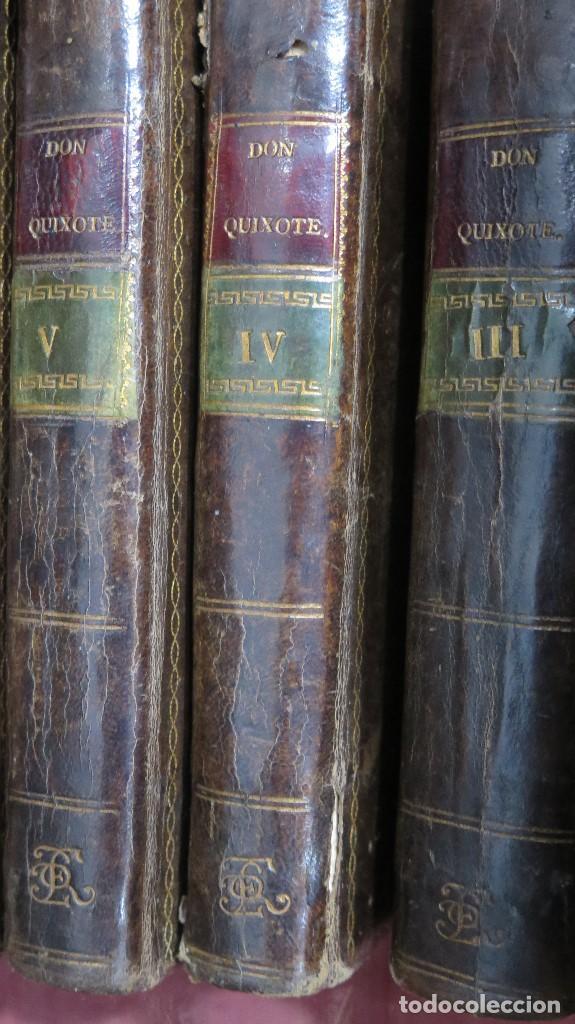 Libros antiguos: 1787. DON QUIJOTE DE LA MANCHA. QUIXOTE. MIGUEL DE CERVANTES. ED. IBARRA. 1787. 6 TOMOS - Foto 4 - 112300263