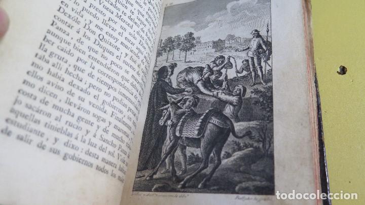 Libros antiguos: 1787. DON QUIJOTE DE LA MANCHA. QUIXOTE. MIGUEL DE CERVANTES. ED. IBARRA. 1787. 6 TOMOS - Foto 7 - 112300263