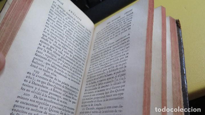 Libros antiguos: 1787. DON QUIJOTE DE LA MANCHA. QUIXOTE. MIGUEL DE CERVANTES. ED. IBARRA. 1787. 6 TOMOS - Foto 9 - 112300263