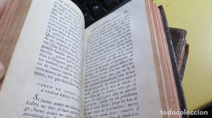 Libros antiguos: 1787. DON QUIJOTE DE LA MANCHA. QUIXOTE. MIGUEL DE CERVANTES. ED. IBARRA. 1787. 6 TOMOS - Foto 13 - 112300263