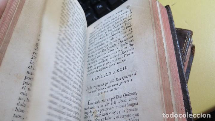 Libros antiguos: 1787. DON QUIJOTE DE LA MANCHA. QUIXOTE. MIGUEL DE CERVANTES. ED. IBARRA. 1787. 6 TOMOS - Foto 14 - 112300263