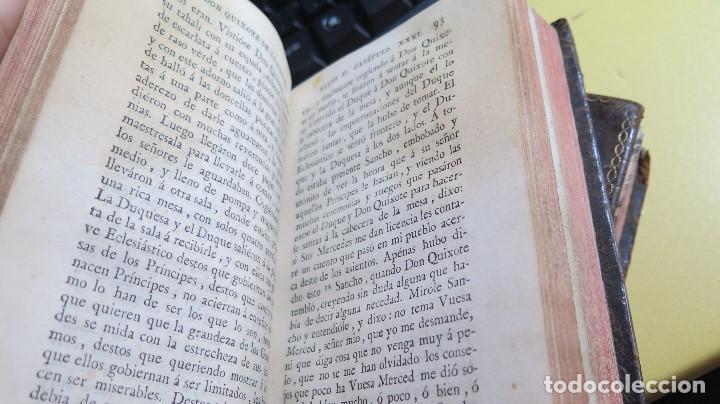 Libros antiguos: 1787. DON QUIJOTE DE LA MANCHA. QUIXOTE. MIGUEL DE CERVANTES. ED. IBARRA. 1787. 6 TOMOS - Foto 15 - 112300263