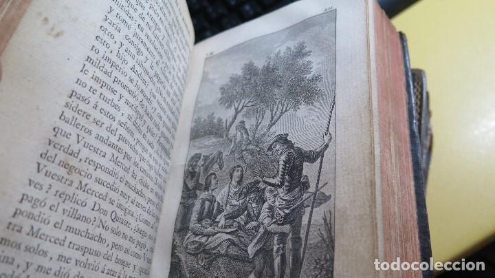 Libros antiguos: 1787. DON QUIJOTE DE LA MANCHA. QUIXOTE. MIGUEL DE CERVANTES. ED. IBARRA. 1787. 6 TOMOS - Foto 21 - 112300263