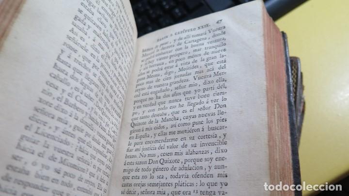 Libros antiguos: 1787. DON QUIJOTE DE LA MANCHA. QUIXOTE. MIGUEL DE CERVANTES. ED. IBARRA. 1787. 6 TOMOS - Foto 22 - 112300263
