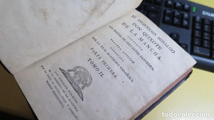Libros antiguos: 1787. DON QUIJOTE DE LA MANCHA. QUIXOTE. MIGUEL DE CERVANTES. ED. IBARRA. 1787. 6 TOMOS - Foto 24 - 112300263