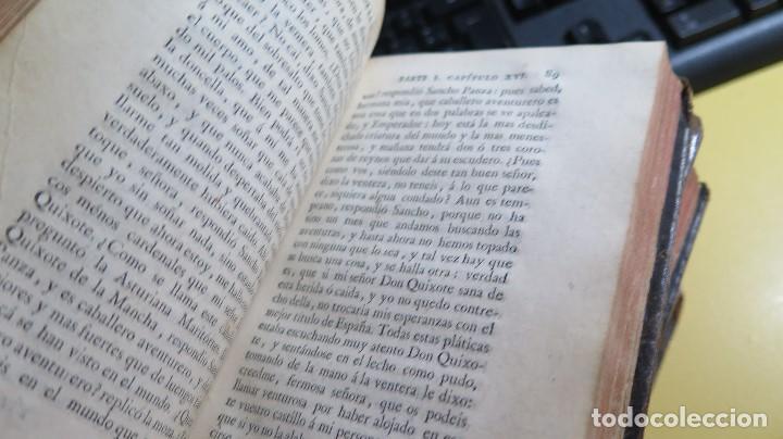 Libros antiguos: 1787. DON QUIJOTE DE LA MANCHA. QUIXOTE. MIGUEL DE CERVANTES. ED. IBARRA. 1787. 6 TOMOS - Foto 26 - 112300263