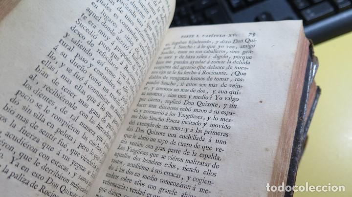 Libros antiguos: 1787. DON QUIJOTE DE LA MANCHA. QUIXOTE. MIGUEL DE CERVANTES. ED. IBARRA. 1787. 6 TOMOS - Foto 27 - 112300263