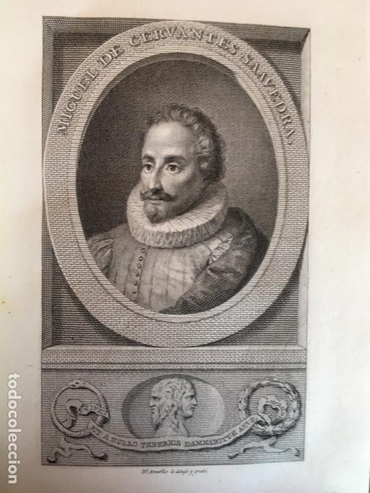 Libros antiguos: Don Quijote imprenta real 1819 cinco tomos - Foto 7 - 93801462