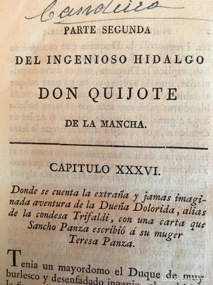 Libros antiguos: Don Quijote imprenta real 1819 cinco tomos - Foto 8 - 93801462