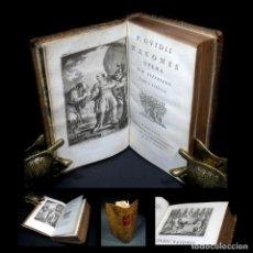 Libros antiguos: AÑO 1793 OVIDII NASONIS FASTORUM TRISTIUM OVIDIO FRONTISPICIO GRABADO MITOLOGÍA ANTIGUA ROMA BARBOU. Lote 112820787