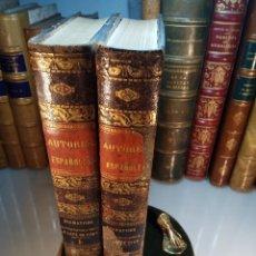 Libros antiguos: DRAMÁTICOS CONTEMPORANEOS A LOPE DE VEGA - 2 TOMOS - B. DE AUTORES ESPAÑOLES -1857-58 - MADRID - . Lote 113224607