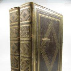 Libros antiguos: DON QUIJOTE DE LA MANCHA, 1954, F. RODRIGUEZ MARIN, 2ª ED, MONTANER Y SIMÓN, BARCELONA. 27,5X37,5CM. Lote 113468899