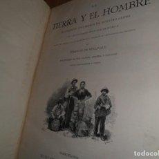 Libros antiguos: 1886-1887 / LA TIERRA Y EL HOMBRE / FEDERICO DE HELLWALD. Lote 113508859