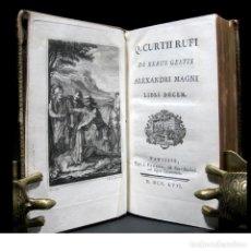 Libros antiguos: AÑO 1757 HISTORIA DE ALEJANDRO MAGNO GRABADOS QUINTO CURCIO RUFO DE REBUS ALEXANDRI BARBOU. Lote 113864211