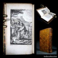 Libros antiguos: AÑO 1757 HISTORIA DE ALEJANDRO MAGNO FRONTISPICIO Y GRABADOS QUINTO CURCIO RUFO DE REBUS ALEXANDRI. Lote 113865379