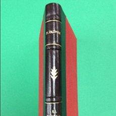 Libros antiguos: EL PUEBLO DORMIDO TRAGICOMEDIA EN TRES ACTOS EDICION PIEL SUPER LUJO. Lote 113997191