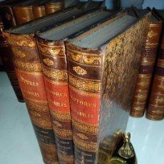Libros antiguos: POETAS LÍRICOS DEL SIGLO XVIII - 3 TOMOS - EXCMO. LEOPOLDO AUGUSTO- B. DE AUTORES ESPAÑOLES - 1861 -. Lote 114538571