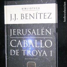 Libros antiguos: LOTE DEL1 AL 6 - 7 LIBROS,CABALLO DE TROYA POR J.J BENITEZ. Lote 114560407