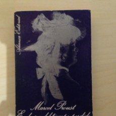 Libros antiguos: EN BUSCA DEL TIEMPO PERDIDO - MARCEL PROUST - ALIANZA EDITORIAL. Lote 141666612