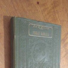 Libros antiguos: EÇA DE QUEIROZ , PROSAS BARBARAS , EN PORTUGUES. Lote 115526191
