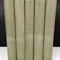 Libros antiguos: OBRAS DE BRETÓN DE LOS HERREROS. 5 TOMOS. MANUEL BRETÓN HERREROS. 1883/1884.. Lote 115544811