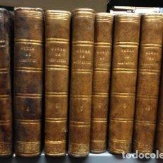 Libros antiguos: OBRAS ESCOGIDAS DE MIGUEL DE CERVANTES SAAVEDRA. 8 TOMOS DE UNA OBRA DE 11. FALTA EL TOMO 1, 2 Y 5. . Lote 57358102