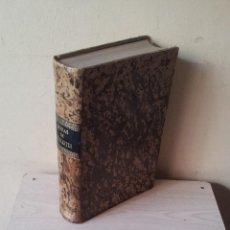 Libros antiguos: DON QUIJOTE DE LA MANCHA Y OBRAS DE CERVANTES - TODO EN UN TOMO - GASPAR Y ROIG, EDITORES 1865/1866. Lote 116422471