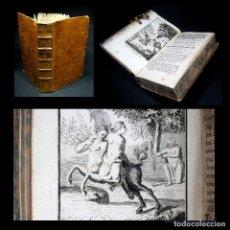 Libros antiguos: AÑO 1788 CENTAUROS HÉRCULES OVIDIO METAMORFOSIS GRABADOS A PLENA PÁGINA ANTIGUA ROMA MITOLOGÍA. Lote 116443851