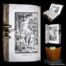 Libros antiguos: AÑO 1788 AQUILES ULISES NEPTUNO LAS METAMORFOSIS DE OVIDIO GRABADOS ANTIGUA ROMA MITOLOGÍA. Lote 116510387