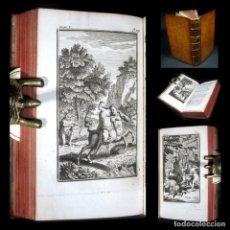 Libros antiguos: AÑO 1737 CENTAUROS MITOLOGÍA LAS METAMORFOSIS DE OVIDIO GRABADOS A PLENA PÁGINA ANTIGUA ROMA. Lote 116570683