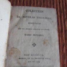 Libros antiguos: 1794-NOVELAS.ISIDRO DE ROBLES.MADRID.LUIS DE GUEVARA.NATURAL DE SEGURA.TRES MARIDOS BURLADOS.. Lote 116671199