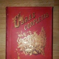 Old books - Antiguo libro - Obras completas de Victor Hugo -Tomo I - 1886 - Terraza Aliena Editores - ilustrado - 116811503