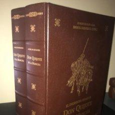 Libros antiguos: EL INGENIOSO HIDALGO DON QUIJOTE DE LA MANCHA. DOS TOMOS. Lote 117041907